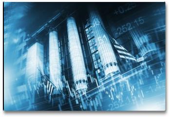 Plakat - Stock Market Concept