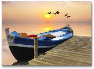 Plakat - vacaciones y tiempo libre en el mar