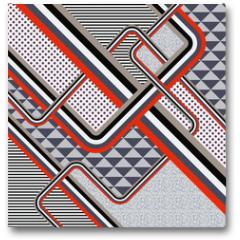Plakat - Retro stile abstract  background. Illustration 10 version