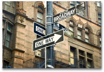 Plakat - broadway