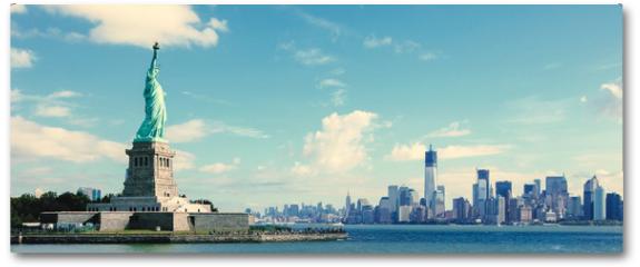 Plakat - Panorama on Manhattan, New York City
