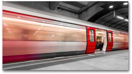 Plakat - London tube moving