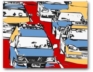 Plakat - embouteillage