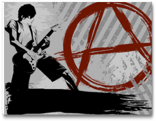Plakat - Punk background