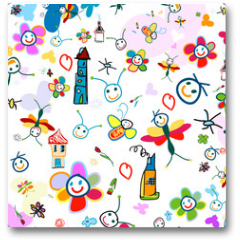 Plakat - background for kids