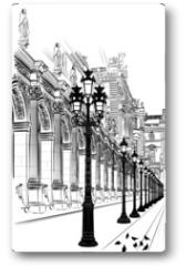 Plakat - Paris: Classical architecture