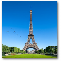 Plakat - Eiffelturm in Paris, Frankreich