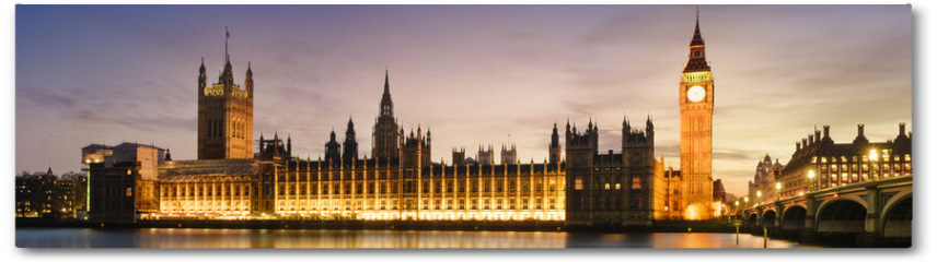 Plakat - Big Ben and House of Parliament