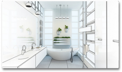 Plakat - Contemporary Bathroom Adaptation (project)