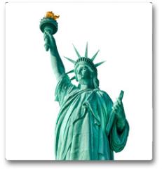 Plakat - Statue of Liberty isolated, New York City