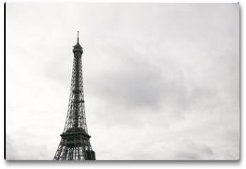 Plakat - Eiffel tower in Paris, France