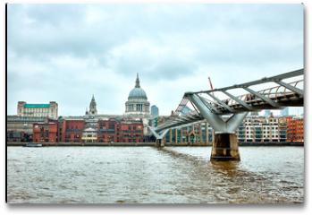 Plakat - London Millennium Bridge