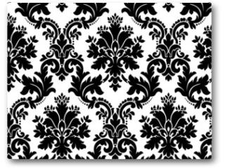 Plakat - Vector. Seamless damask pattern