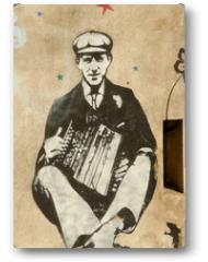 Plakat - accordéoniste