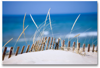 Plakat - lake sand dunes