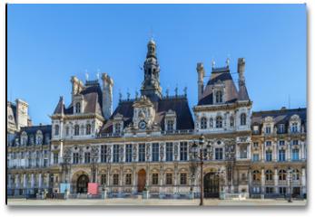 Plakat - City hall, Paris