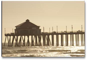 Plakat - huntigton beach pier 2 of 4