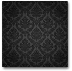 Plakat - Seamless damask wallpaper