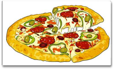 Plakat - pizza
