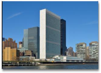Plakat - United Nations Building.