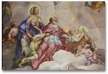 Plakat - Fresken, Karlskirche, Wien