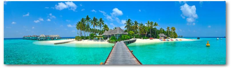 Plakat - Maldives island Panorama