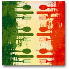 Plakat - Italian Menu Vector Template