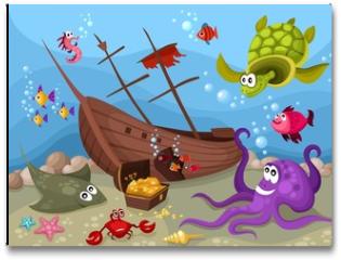Plakat - sea life