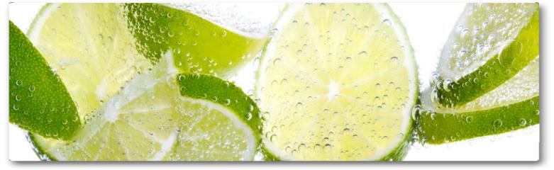 Plakat - Limette & Zitrone