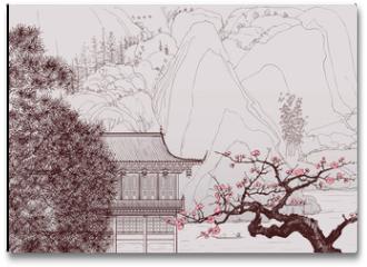 Plakat - Chinese landscape
