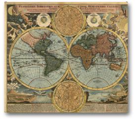 Plakat - Ancient map