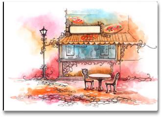 Plakat - pizzeria