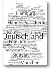 Plakat - Deutschland