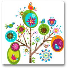 Plakat - whimsy tree