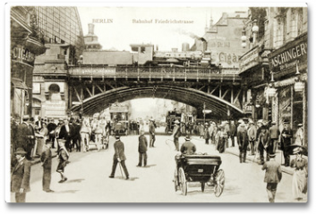 Plakat - Friedrichstrasse Postcard