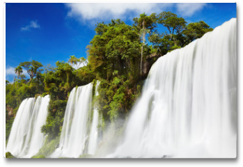 Plakat - Iguassu Falls, view from Argentinian side