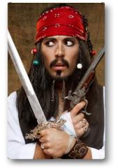 Plakat - Dissatisfied pirate