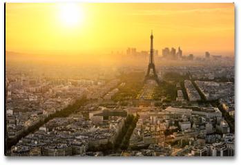 Plakat - Paris Tour Eiffel