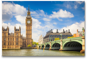 Plakat - Big Ben and Houses of Parliament