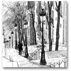 Plakat - Montmartre in Paris