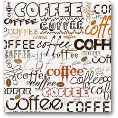 Plakat - Coffee background