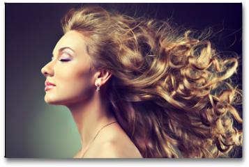 Plakat - wavy hair