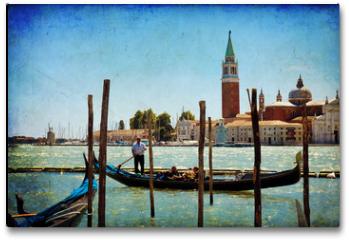 Plakat - Venice, View of San Giorgio maggiore from San Marco