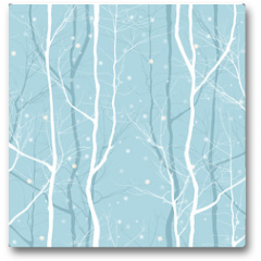 Plakat - trees seamless