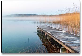Plakat - Irish lake before sunrise