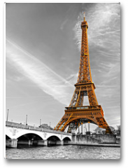 Plakat - Eiffel tower, Paris.