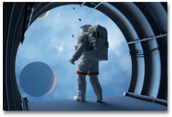 Plakat - Astronaut in the tunnels