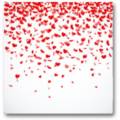 Plakat - Herzkonfettiregen