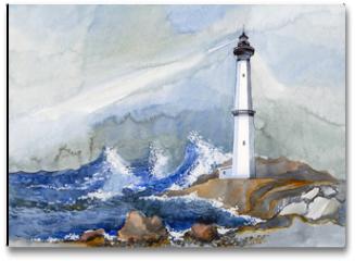 Plakat - lighthouse