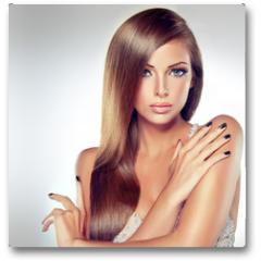 Plakat - Fashion Girl Portrait